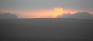Sonnenaufgang in der Uckermark