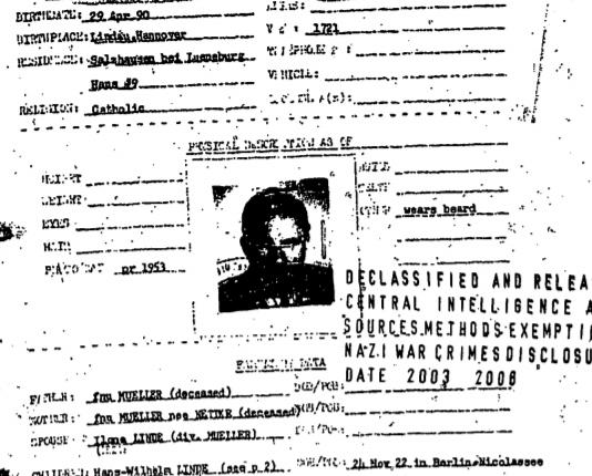 SS-Mueller-Darss und dieCIA