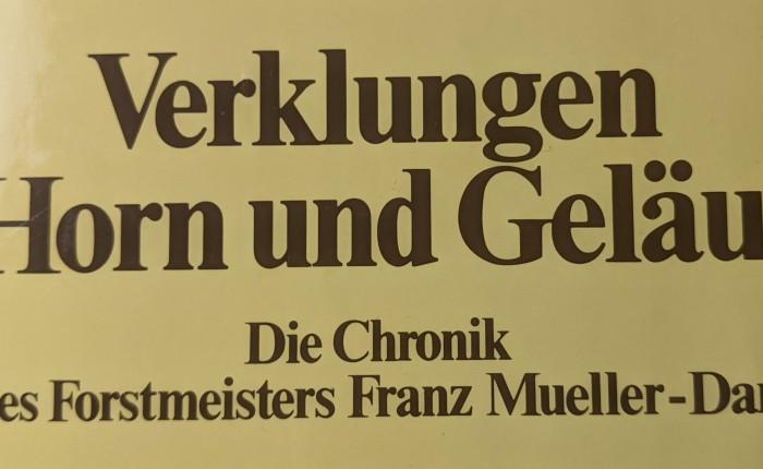 Verklungen Horn und Geläut – die Lügen des FranzMueller-Darss